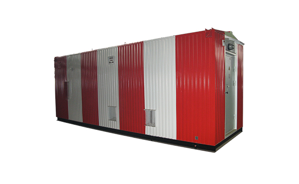 HF, MF and VNF containerized communication complex